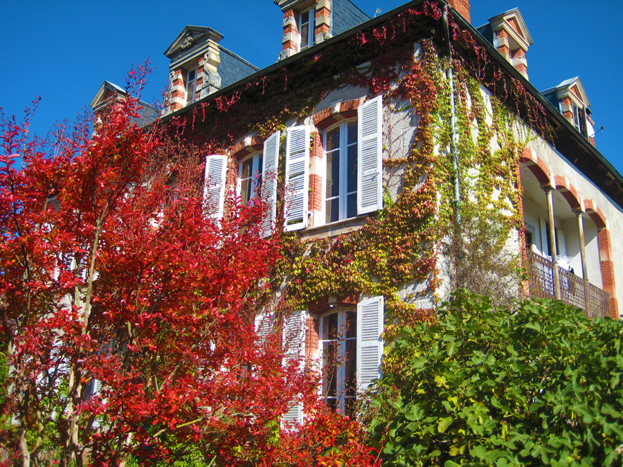 The autumn at La Flambelle