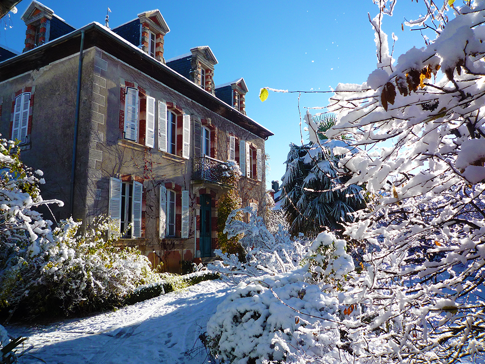 The winter at La Flambelle